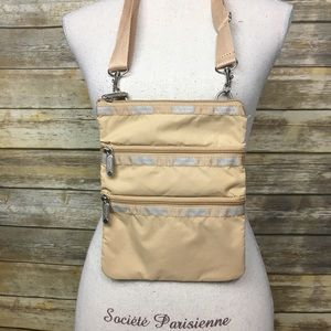 LeSportSac Tan Crossbody